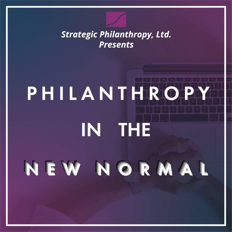What's Happening to Philanthropy